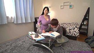 Busty asian teacher huge boobs