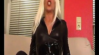 Blonde Latex MILF Part II