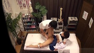 KInky Japanese milf gets fucked after massage