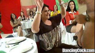 Dancingcock Shaved Cock Party