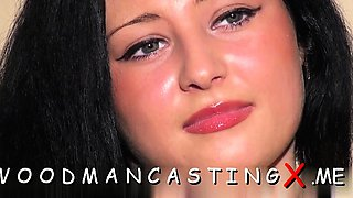 Luscious playgirl comes to a casting to get her hole drilled