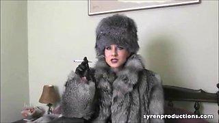 Smoking in furs