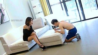 chinese femdom trampling kicking