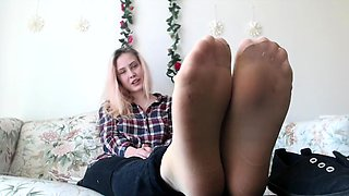 Nylon Foot Sex