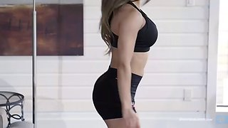 Perfect booty home workout  lais deleon hd