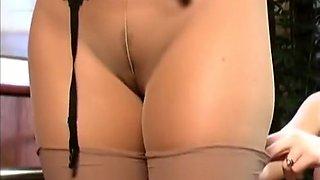 pantyhose lesbian 1