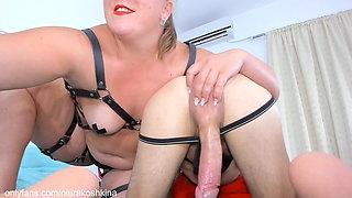 It's Time to MILK my Slave. Orgasm Control. Mistress