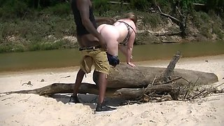 White Wife Goes to Africa For Some Real Hard Pine Wood