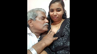 Mallu girl shared with Old uncle