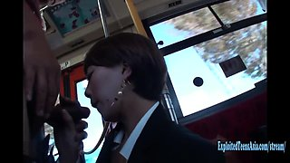 Jav Office Girl Machida Gangbang Uncensored On Public Bus In Traffic Drivers Can See In