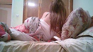Arab teen Girlfriend Voyeur