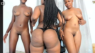 Ridiculously Huge African Ass