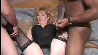 Kitty foxx foot fetish interracial threesome