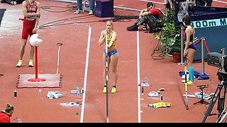 Gorgeous female sport