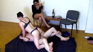 Wrestling in chastity