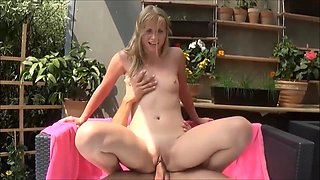German Girl  Outdoor Anal Pee Games