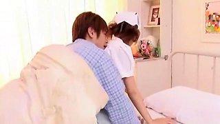 Exotic Japanese whore Tsubasa Amami in Hottest Cunnilingus JAV video
