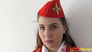 Kacey Levert Czech Flight Agent Interracial Hd