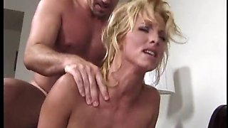 T.J. Hart makes her hung lovers cum within minutes and gets showered in jizz