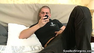 Watch shameless defloration action with sexy Lusya.