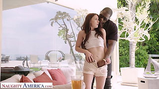 Naughty America - Lindsey (Danni Rivers) Fucks her brother's