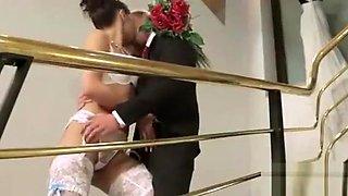 Bride Jessica Koks get fucked at Photoshooting