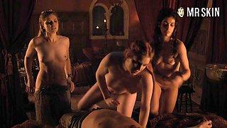 Game of Thrones Premiere Visits House Sprayjoy - Mr.Skin
