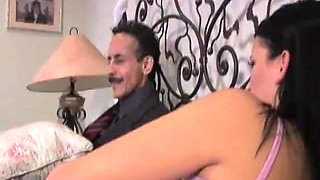 Babysitter, Brandy gets her pussy fucked by Dirty Harry.