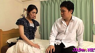 Breathtaking pussy and tit play for a older japanese hottie