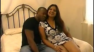 Fantastic british indian mature with black man
