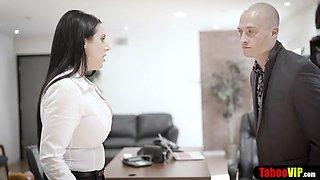 Bombastic secretary punish fucked to learn the rules