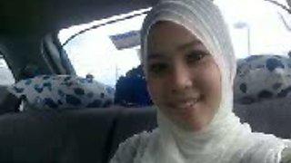 Sensual sex with my muslim Malaysian girlfriend on homemade POV video