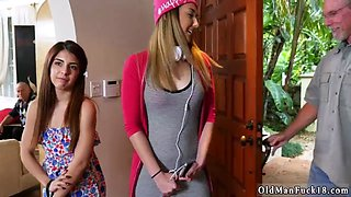 Teen and her babysitter please first time Maximas Errectis