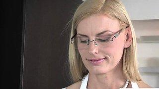 Stepmom milf rimmed in taboo threesome