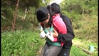 Boobs Milf Play Outdoor With not her son Vol.2