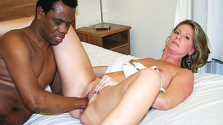 stepmoms first interracial fisting lesson