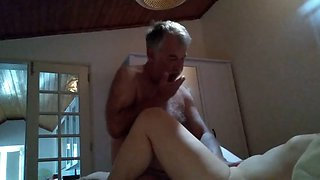 French wife in hidden camera