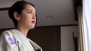 Lonely Asian housewife gets the deep pounding she deserves