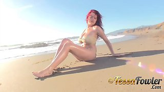 Tessa fowler shoreline bikini 1