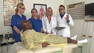 Cfnm Nurses Orgy With Doctor And Bbc Patient