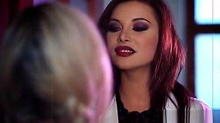 Pornstar sex video featuring Anna Polina and Keiran Lee