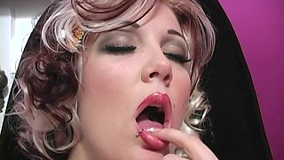 Candy Monroe enjoys a big black dick in front of a cuckold