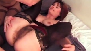 Mature wife gets all fucked up