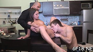 Delightful russian Foxy Di banged in copher