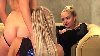 Mistress And Handmaiden: Maid Undresses New Teen Slave