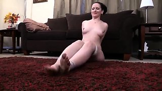 Beautiful milf with a splendid ass gets trained in bondage