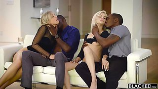 Pretty gf is fucked by her neighbors bbc
