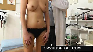 Old unlicensed doctor spying on hot females