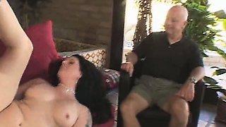 Swinger Hotwife Screws The Stranger