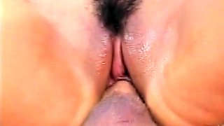 Pigtailed cutie with tiny boobs gets drilled rough outside